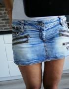 Spódniczka mini jeans cipo&baxx M L...