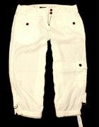 Jak nowe spodnie białe LEN NEXT...