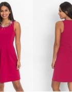 Rewelacyjna sukienka wróżowym kolorze