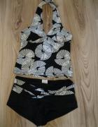 strój kąpielowy NEXT 36 czarno biały