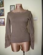 bluzeczka sweterek Saint Tropez 38 Khaki