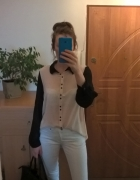 Koszulowa bluzka mgiełka