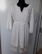Sukienka tunika ecri FalmerHeritage 12...