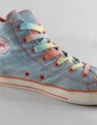 Converse wysokie błękit