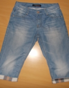 spodenki jeansowe S