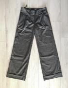 Szerokie spodnie garniturowe New Look S...