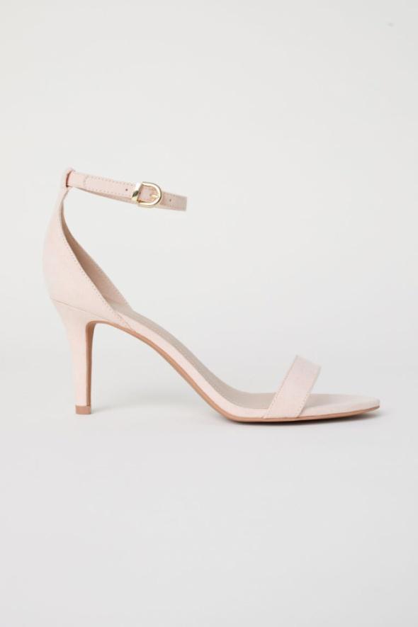 Sandały H&M pudrowy róż rozmiar 37...