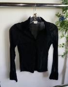 koszula czarna mgiełka r S H&M zara bershka...