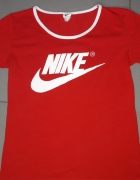 Koszulka czerwona nike M...