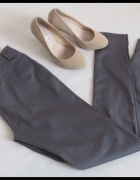 ORSAY spodnie damskie rurki 38 M stalowoszare stan BDB