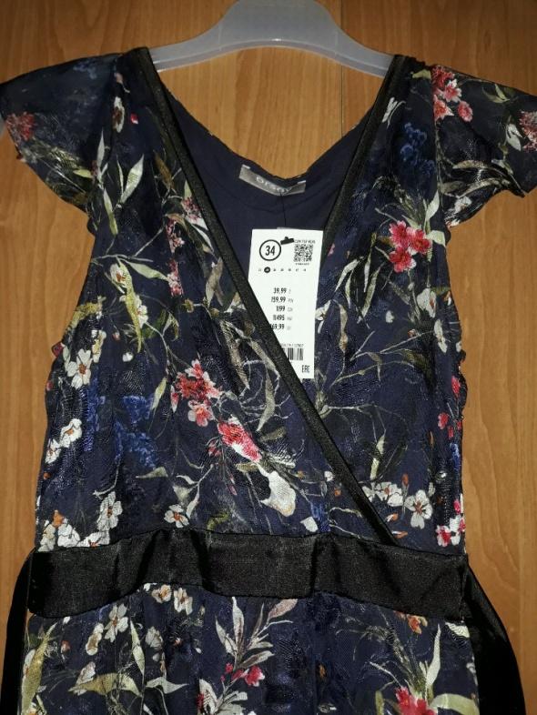 20a654a7ac Sukienka w kwiaty Orsay w Suknie i sukienki - Szafa.pl