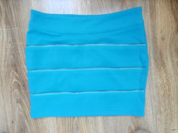 Spódnice spodnica niebieska 36 38