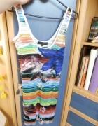 sukienka kolorowa amisu 34 36...