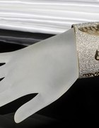 Piękna bransoleta bangle motyl