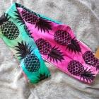 Legginsy w ananasy nowe