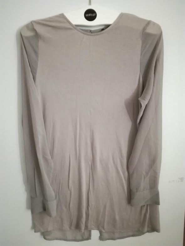 Bluzka biurowa z rozcięciem
