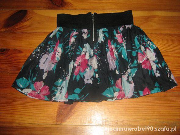 Spódniczka floral zip