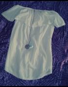 Biała bluzka hiszpanka L