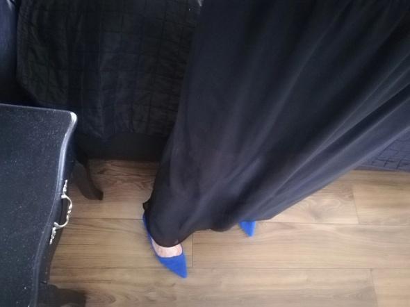 Spódnice Spódnica maxi czarna h&m 40 zwiewna jak nowa