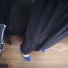 Spódnica maxi czarna h&m 40 zwiewna jak nowa