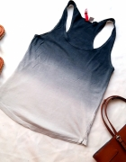 ombre H&M top S
