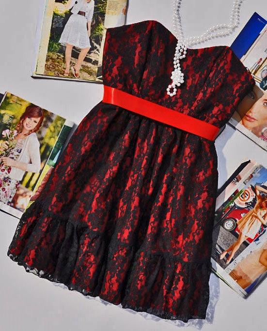Okazja nowa koronkowa gorsetowa sukienka 36 sylwester
