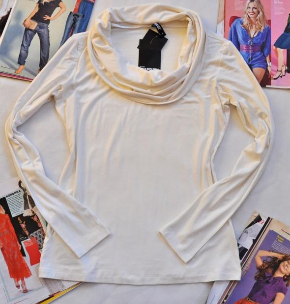 Swietna nowa kremowa bluzka