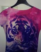 Colorfull bluzka tygrys S...