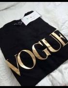 Koszulka Vogue gold
