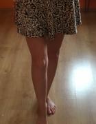 Mini spódniczka rozkloszowana...