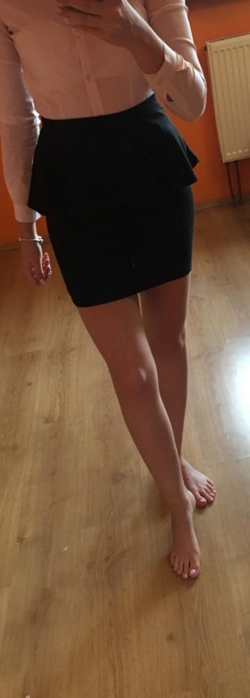 Spódnice Czarna mini spódniczka