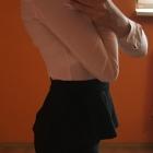 Czarna mini spódniczka