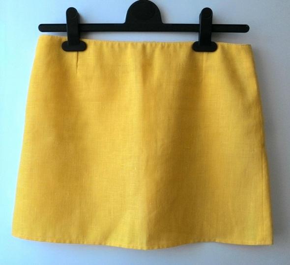Żółta spódnica mini xs s Kup 3 zapłać za 2