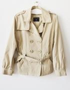 beżowy płaszczyk kurtka XL wiosna