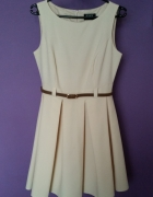Klasyczna sukienka FIGL 36 38