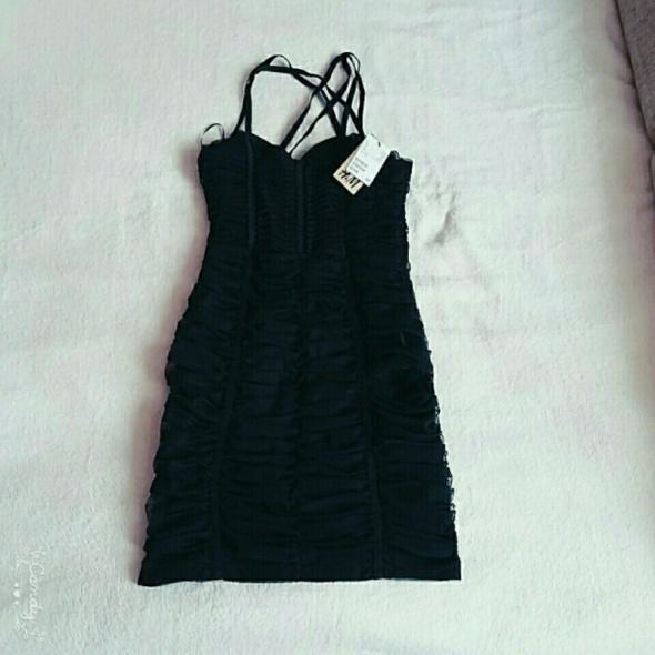 Nowa czarna sukienka h&m