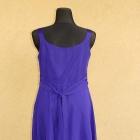 David Emanuel piękna wieczorowa sukienka fiolet kamienie rozm 46