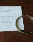 bransoletka cienka Rytosztuka srebrna