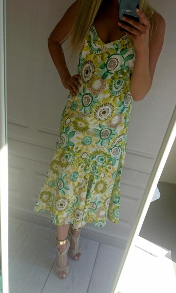 sukienka w kwiaty Per Una...