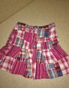 Next Różowa rozkloszowana spódnica w kratę 92 cm 15 2 lata...