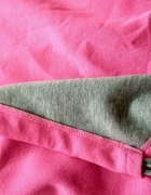 Różowa narzutka