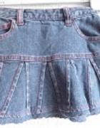 Spódniczka jeans dla dziewczynki od 1 do15 roczku...