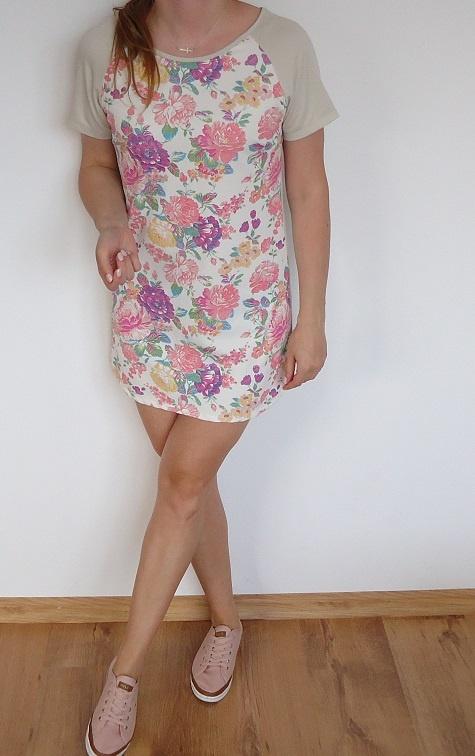 sukienka kwiaty floral 36...