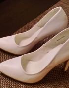 Nowe buty białe ślubne 39...