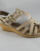 Timberland beżowe sandały...