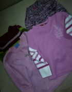 4 ciepłe swetry zestw 110 116 cm 5 6 lat