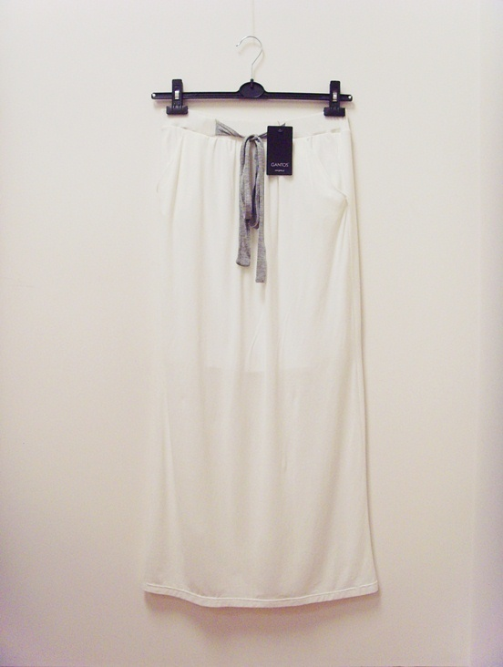 Spódnice Nowa METKA spódnica maxi long biała 38