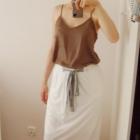 Nowa METKA spódnica maxi long biała 38