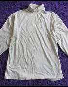 BIG STAR bluzka z golfem rozmiar XL jasny melanż