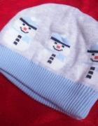 Świetna czapeczka zimowa dla chłopca 0 do 3 m